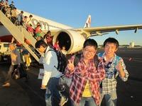 ゴールドコースト空港到着.JPG