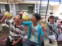サンシャインコースト大学の学食で買った黄色い飲み物.JPG