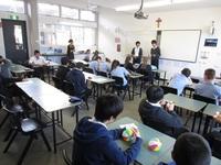 現地校で日本文化紹介の発表.JPG