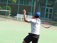 ソフトテニス中学部(明法にて).JPG