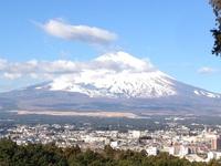 合宿所から富士山を眺望!.JPG
