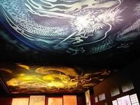天井画雲龍図