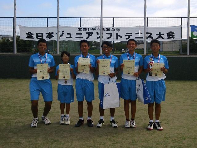 神奈川 県 ソフトテニス 中学